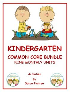 This fantastic bundle contains Kindergarten Common Core activities from nine monthly units.  Included is a wide variety of reading, writing and math activities. The state standards for the activities are listed at the top of the pages.  In these units there are worksheets that can be done independently, as a whole group lesson, or used as homework.
