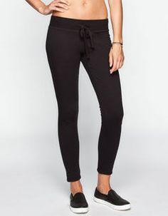 edc47da572d FULL TILT Womens Fleece Skinny Pants Clothing Deals