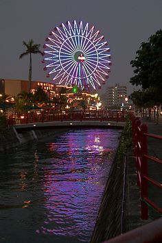 chatan/american village in okinawa! I miss the ferris wheel and everything else associated with okinawa