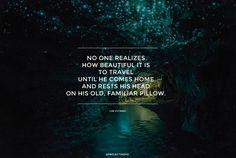 TRAVEL BEAUTIFUL WORLD QUOTE INSPIRATION