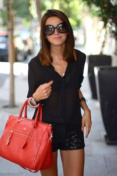 Image result for how to wear a red bag