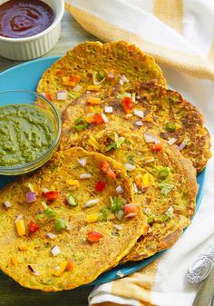 Check out these gluten-free chickpea flour recipes for you. Chickpea flour is also known as garbanzo bean flour, besan flour and gram flour. Chickpea Flour Pancakes, Chickpea Flour Recipes, No Flour Pancakes, Breakfast Pancakes, Breakfast Smoothie Recipes, Snack Recipes, Cooking Recipes, Veg Recipes, Healthy Cooking