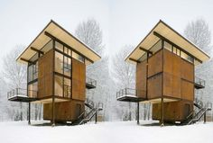 Delta Shelter in Mazama by Olson Kundig Architects