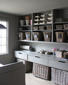 Study craft room ideas on pinterest kids study study for Study room wall cabinets