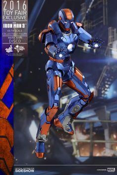 Marvel Iron Man Mark XXVII - Disco Sixth Scale Figure by Hot   Sideshow…