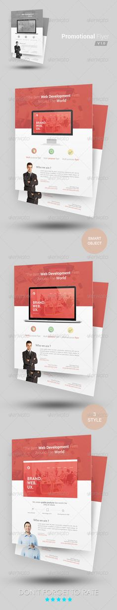 Promotional Flyer Template - Corporate Flyers