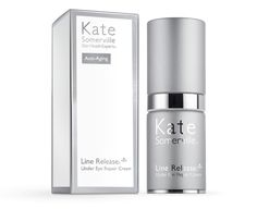 Try Kate Somerville's best under eye cream, the Line Release Under Eye Repair Cream. For more ways to reduce fine lines visit KateSomerville.com.