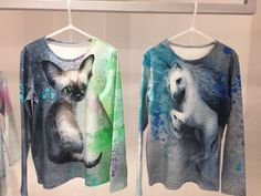Magical drawns on the blouse