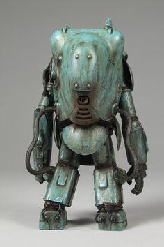 Maschinen Krieger Raptor Larp, Robot Cute, Arte Robot, Retro Robot, Morning Cartoon, 2d Art, Funny Images, Metal Art, Concept Art