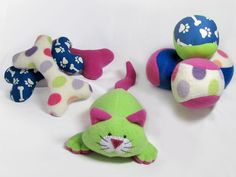 Sewn Dog Toys - Pattern on Craftsy