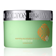 Warming eucalyptus body scrub: The perfect pick-me-up when you're feeling down. Enliven the whole body with this stimulating blend of pure eucalyptus oil, root ginger and exfoliating sea salts. Designed to boost circulation, soothe muscle strains and reveal a clearer, brighter skin tone. Warming and eases chills in winter, whilst refreshing in summer.  #taiganholiday
