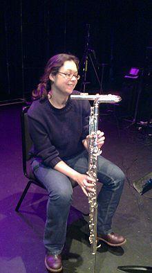 Vertical bass flute