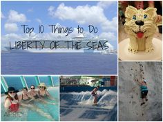 Top 10 Things to Do on Liberty of the Seas Royal Caribbean Cruise Ship #seastheday