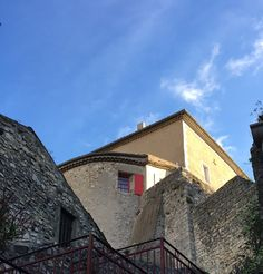 I looked up in the walled-in village of Viviers, France to see sunlight above the shadowed brick. A glimpse of freedom from the dark. This post is for Shadow Shot Sunday.