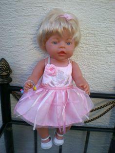 blonde-Zapf-Puppe-Baby-Born-43-cm-Save-the-Children-Europa-viel-Zubehoer