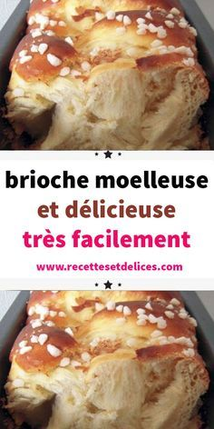 fluffy and delicious brioche very easily - A good easy fluffy brioche can be kneaded with a robot or by hand, but above all, it rests quietly - Brioche Bread Pudding, Bread And Butter Pudding, Receta Pan Brioche, Brioche Rolls, Brioche French Toast, Beste Burger, Bun Recipe, Burger Buns, French Toast Casserole