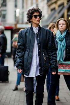 The Best Street Style At London Fashion Week AW17+#refinery29uk