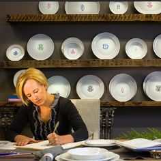 It Is Cynthia's Design Concepts – Her Radical Interpretations Of Time-Honored, Traditional Pieces – That Ultimately Embody What Sasha Nicholas Brings To The Table: One-Of-A-Kind, Functional, Beautiful Dinnerware Made For Life Outside The China Cabinet.- Monogrammed Dinnerware Custom Crests