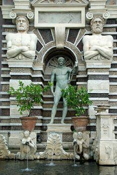 Villa d'Este (Tivoli/Italie)  #Expo2015 #Milan #WorldsFair