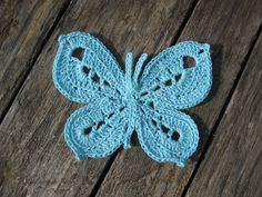 crochet butterfly tutorial in english