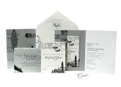 Broadway - Luxury Wedding Invitations - Ceci Ready-to-Order Collection - Ceci Wedding - Ceci New York