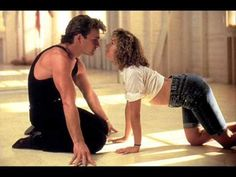 """Hungry Eyes"" by Eric Carmen.  Dirty Dancing with Patrick Swayze and Jennifer Grey."