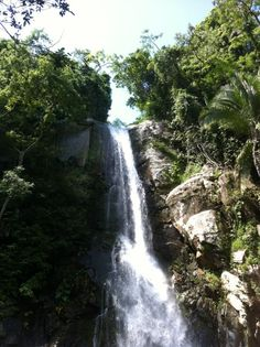 Waterfall at Yelapa www.puertovallarta.net #yelapa #vallarta #mexico