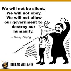 Don't be Silent Don't Obey! #Anarchism #Government  http://ift.tt/P60prR