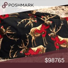 LAST ONE! Reindeer OS LuLaRoe Leggings GET THEM IN TIME FOR CHRISTMAS!  Buttery Soft Reindeer LuLaRoe OS Leggings  Super hard to get pattern!! If you haven't tried LuLas.... you HAVE to treat yourself!! They're like wrapping yourself in your favorite PJs all the while sporting a super figure flattering pair of leggings!! OS Fits Size 2-10 LuLaRoe Pants Leggings
