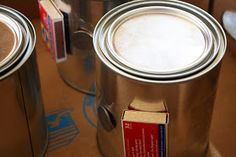 Canned Heat: How to Make an Emergency heater.   A new, quart-sized paint can with a lid. A roll of unscented toilet paper. A bottle of unscented, 70% isopropyl alcohol  A box of matches. A quarter  Some packing tape.