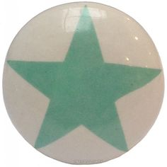 Deurknop ster mint groen | La Finesse