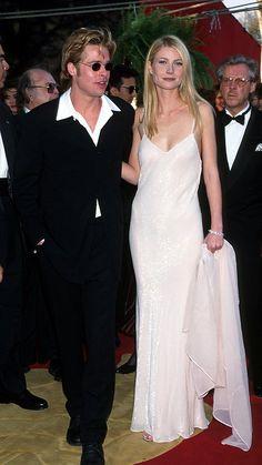 Pin for Later: Die 85 unvergesslichsten Kleider der Oscars – von 1939 bis 2015 Gwyneth Paltrow bei den Oscars 1996 in Calvin Klein