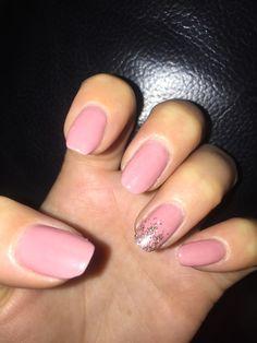 Dusky Pink Nails