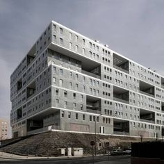 Dutch architects MVRDV in collaboration with Madrid architect Blanca Lleó have completed a social housing project in Madrid, Spain.