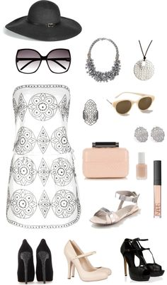 Classy - for a wedding, created by divineshape on Polyvore