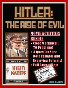 The men who built america episode 1 worksheets history channel save with this bundle of two hitler the rise of evil resources a set fandeluxe Images