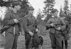 Suomalaiset rajasissit olivat usein pohjoisen omia poikia, jotka tunsivat maaston.