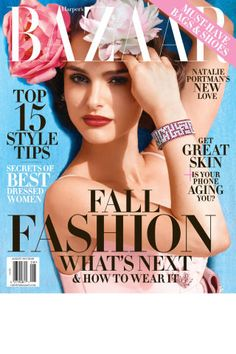 Natalie Portman is the cover star of the BAZAAR August 2015 issue. See the full fashion editorial here: