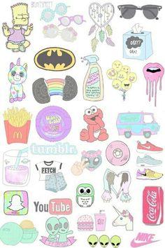 Diy Phone Case 537054324308315431 - Maisha 🐾 Source by Homemade Stickers, Diy Stickers, Printable Stickers, Planner Stickers, Iphone Wallpaper Vsco, Emoji Wallpaper, Aesthetic Iphone Wallpaper, Tumblr Drawings, Kawaii Drawings