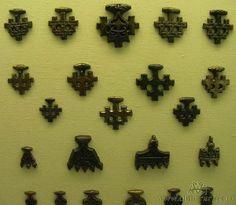 Cross pendants. Wikinger Museum Haithabu