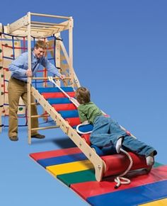 In-FUN-ity Climbing System - Balance Products (Ladders) - Climbing Products.