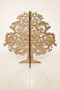Jewellery Trees Small Uniquely Designed in Walnut by littlejehan