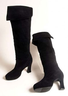 stevies real boots! from 1981 bella donna rehearsals in houston, tx. Fleetwood Mac / Stevie Nicks boots
