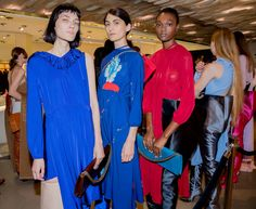 Demna and Guram Gvasalia keep breaking the rules. Photographer Kevin Tachman got inside access at Vetements's disruptive Spring 2017 men's and women's show, staged at Galeries Lafayette.