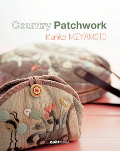 Items similar to Easy & Kawaii Patchwork - Japanese Quit Pattern Book for Quilters - on Etsy Patchwork Quilt Patterns, Patchwork Bags, Quilted Bag, Patchwork Designs, Japanese Patchwork, Japanese Quilts, Japanese Sewing, Bag Quilt, Fabric Bags