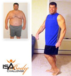 Isagenix Before & After - Richard R. #weightloss #fitness