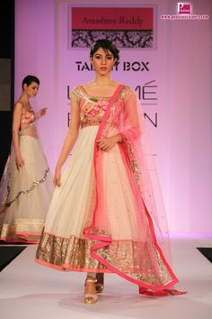 Anushree reddy collection at Lakme Fashion Week 2013 | Paul Embroidery