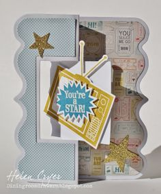 Stamps of Life Exclusive Fancy Edge Flip-Its Card die!
