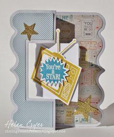 Stamps of Life Exclusive Fancy Edge Flip-Its Card die!