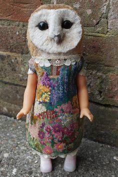 My Owl Barn: Annie Montgomerie's Textile Dolls